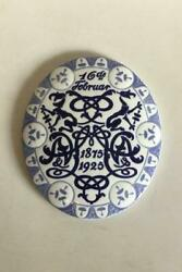 Bing And Grondahl Commemorative Plate From 1925 Bg-cm62