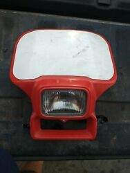 1983 Honda Xr500 Headlight Complete Fits All Years Works Perfect Great Cond.