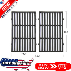 Cast Iron Grill Grates Replacement Parts For Weber Cooking Gas Grills 17.5 Inche