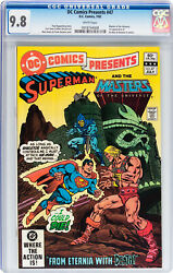Dc Comics Presents 47 Cgc 9.8 1982 1st Appearance He-man Masters Of The Universe