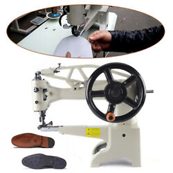 Diy Patch Leather Sewing Machine Heavy Duty Tabletop Manual Shoe Repair Machine