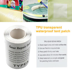Waterproof Repair Tape Patch Kit For Gazebo Tent Canopy Awning Marquee Stock