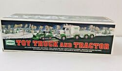 Collectible Hess Toy Truck And Tractor 2013 Nib