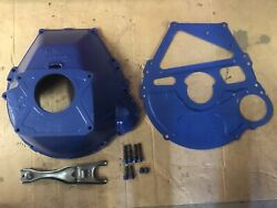 Ford 460 429 400m 351m Bell Housing Clutch Fork Block Plate And Bolts