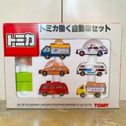 Tomica Tomica Working Car Set Made In Japan Gift Set G155 With Box
