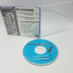 Guided By Voices My Valuable Hunting Knife Promotional Cd 1995 Matador Records