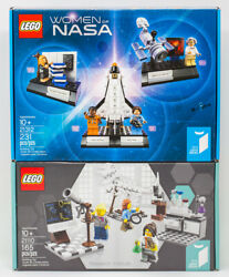 Lego Ideas Lot Women Of Nasa 21312 And Research Institute 21110 New Sealed Retired