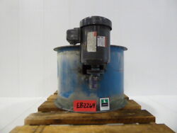 Used Exhaust Blower - Brinks 2 Hp Tube Axial Fan Eb2264-blowers - Exhaust