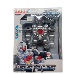 Jaki Beastares / Rc Steel Wolf Ares / Robot / Light And Sound / Dancing