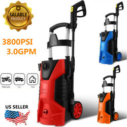 3800psi 3.0gpm Electric Pressure Washer High Power Washer Machine For E 16