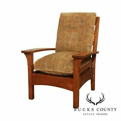 Stickley Mission Collection Oak Lounge Chair