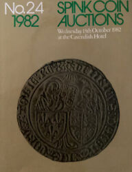 Spink Coin Auctions Oct. 1982 No.24 Cavendish Hotel
