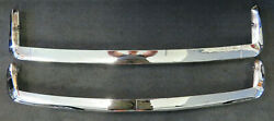 1970-1973 Datsun 510 Front And Rear Bumpers Oem Factory Nissan Original
