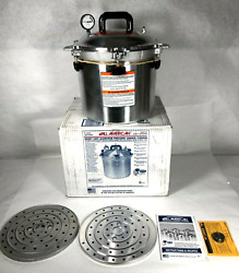 Used- All American 921 21.5-quart Pressure Cooker - Free Shipping