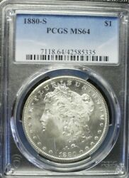 1880-s Morgan Dollar Pcgs Ms64  Dollar Prices Are Going Up
