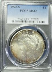 1923-s Peace Dollar Pcgs Ms63  Dollar Prices Are Up