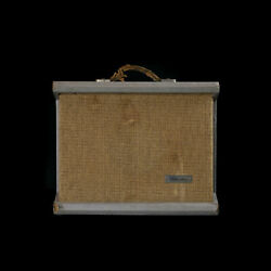 Vintage Sears And Roebuck And03959-and03961 Silvertone Model 1431 Tube Guitar Amp Combo