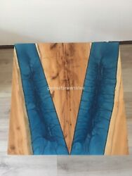 Epoxy Dining Table   Epoxy Table   Acacia Wood Table   Wood Table I Coffee Table