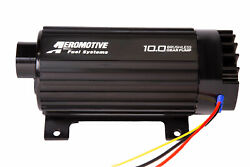 11198 Aeromotive Fuel System 10gpm Brushless Spur Gear Fuel Pump With True