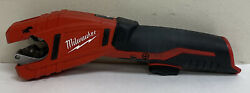 Pre Owned Milwaukee 2471-20 M12 Li-ion Copper Tubing Cutter