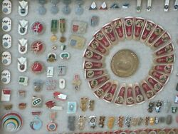 Olympic Pins Massive Collection Nice