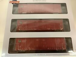 """Athearn 75264 Ho Scale """"canadian Pacific"""" 60' Dd Gunderson Box Car 3 Pack"""