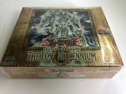 Yu-gi-oh The Lost Millennium Booster Box 1st Edition Tlm - New/factory Sealed