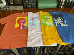 Awesome 4 Beatles Psychedelic T-shirts Richard Avedon Set Of 4 Xl New W/o Tags