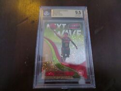 Trae Young Rookie Bgs 9.5 2018 19 Panini Threads Next Wave Gold Dazzle 05/10