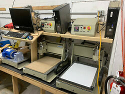 60cm X 40cm Cnc Mills Made In China The Control Pc Units Have Linux Cnc On Them