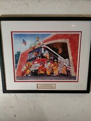 Warner Bros. Salutes Firefighters 2007 Were One Goes We All Go W/coa See Disc.