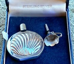 Solid Silver Traveling Scent Bottle And Funnel - Ari D Norman - London - 2000