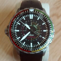 Sinn 857 Ezm7 Mission Timer Utc Automatic Tegimented Steel Rubber Box And Paper