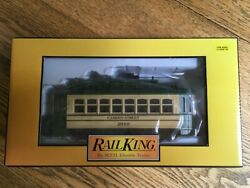 Mth Rail King 2010 Tca Convention Camden Trolley Baltimore Md. Limited Ed.