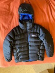 Grade Vii Down Parka Menand039s Xll Navy Blue Excellent Condition