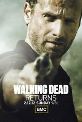 Poster The Walking Dead Zombie Horror Andrew Lincoln Rick Grimes Series Tv 3