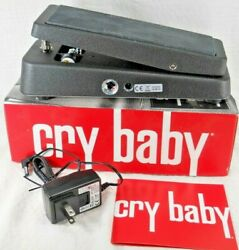 Vintage-original Cry Baby Wah Model Gcb-95 New-in-box With Ac Adapter