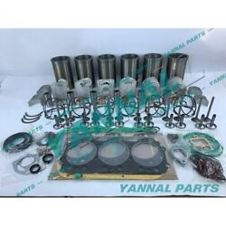 New Ek130 Overhaul Kit With Engine Bearing Valves And Cylinder Gasket Set For Hino