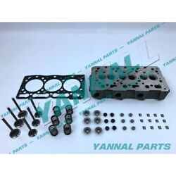New Kubota D1005 Complete Cylinder Head With Head Gasket