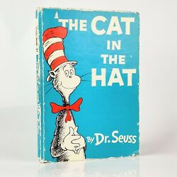 Dr. Seuss The Cat In The Hat - Uk First Edition - Signed And Inscribed