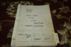 Oliver 1650 1655 Tractor Parts Book Gvoh