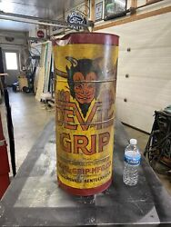 Devil Grip Tire Patch Display Gas And Oil Chevrolet An Ford