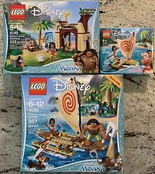 Lego Disney Moana 3 Set Lot, 41149, 41150 And 43170, New In Factory Sealed Boxes