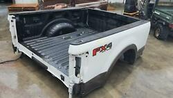 17-20 Ford F250sd Bed Without Tail Lamps And Tailgate Srw.
