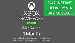 Xbox Live 1 Month Gold amp; Game Pass Ultimate 2 x 14 Day 247 INSTANT DELIVERY