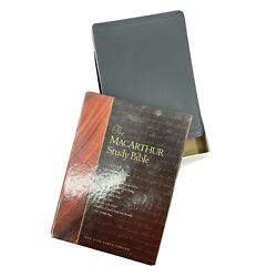 The Macarthur Study Bible 1997, Bonded Leather