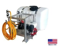 Sprayer Commercial - Skid Mounted - 9.5 Gpm - 580 Psi - 100 Gallon Tank