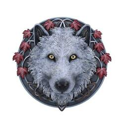Nemesis Now - Guardian Of The Fall - Wolf Wall Plaque 29cm Lisa Parker Ornament