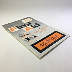 First Aid And Home Nursing Guide Liberty National Life Insurance Booklet 1950s