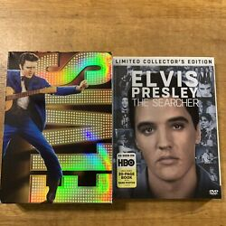 Elvis 75th Birthday Collection 7 Disc Set + Elvis Presley The Searcher Dvd Lot